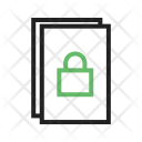 Secure Document File Icon