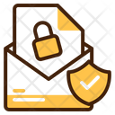 Secure Email Communication Chat Icon