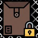 Secure Envelope Icon