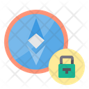 Password Money Bitcoin Cryptocurrency Secure Ethereum Protected Ethereum Icon