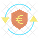 Mprotection Shield Secure Euro Transaction Exchange Icon