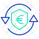 Secure Euro Transaction Icon