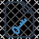 Secure file Icon