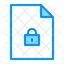 Secure file Icon