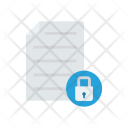 Secure Record File Icon