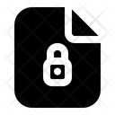 Lock File Document Icon