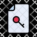 Secure File File Key File Icon