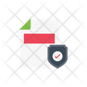 Secure File Document Icon