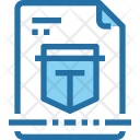 File Protection Safety Icon