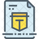 File Protection Secure Icon