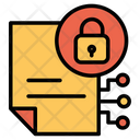 Document File Lock Icon