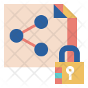 Secure File sharing Icon