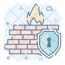 Secure Firewall Secure Defence Gateway Security Icon