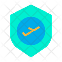 Flight Protection Safety Icon