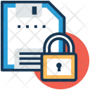 Secure floppy Icon