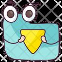 Data Encryption Folder Security Data Protection Icon