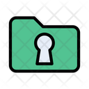 Folder Directory Private Icon