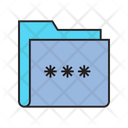 Password File Data Icon