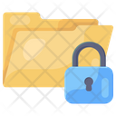 Secure Folder Secure File Secure Document Icon