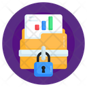 Data Protection Secure Data Secure Folder Icon