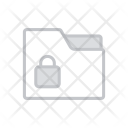 Folder Locked Storage Icon