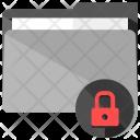 Folder Secure Lock Icon