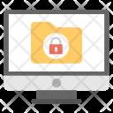 Locked Data Secured Icon