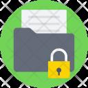 Secure Folder Locked Icon