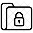 Lock Folder Secure Icon