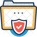Folder Protection Confidential Icon