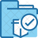 Folder Protection Safety Icon