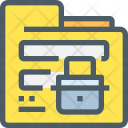 Folder Security Secure Icon