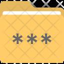 Folder Password Lock Icon