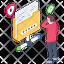 Secure Folder Network Secure Folder Sharing Shared Data Folder Icon