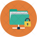 Secure Folder Sharing Icon