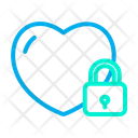 Secure Heart Icon