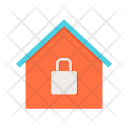 Secure House Home Icon