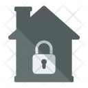 Lock House Secure Icon
