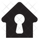 Secure Home House Icon