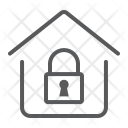 Secure Home Lock Icon