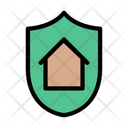 House Secure Shield Icon