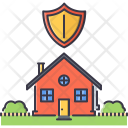 Shield House Real Icon