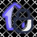 Secure Lock Estate Icon