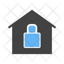 Home Secure House Icon