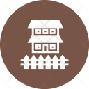 Home House Fence Icon