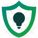 Secure Idea Shield Protection Icon