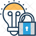 Idea Protection Lock Icon