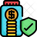 Secure investment Icon