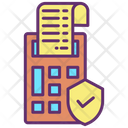 Secure Invoice Approved Invoice Verified Invoice Icon