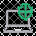 Secure Laptop Icon